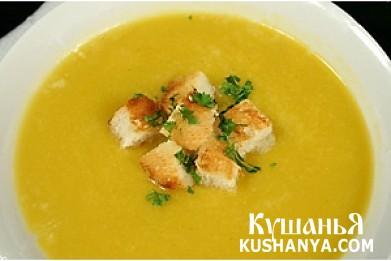 Фото Молочно-чесночный суп