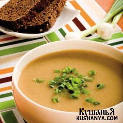 Фото Молочный суп с репой