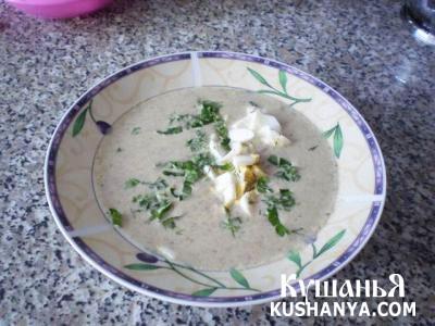 Фото Сливочный суп по брюссельски