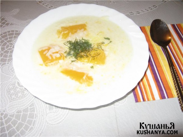 Фото Молочный суп по-таджикски