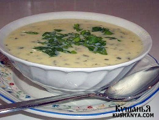 Фото Молочный суп по-французски