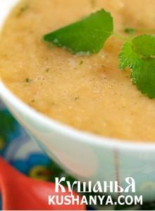 Суп молочный с дыней фото