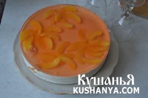 Торт «Персиковое наслаждение» фото