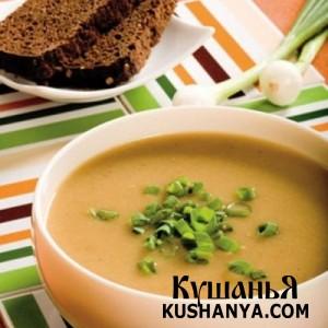 Молочный суп с репой фото