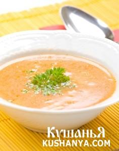Суп молочный манный с тыквой и рисом фото
