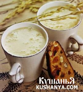 Молочный суп с пивом фото