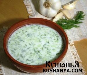 Суп молочный с кабачками фото