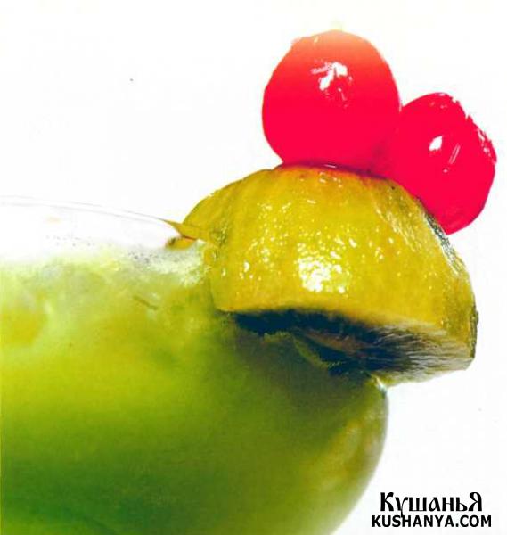 Фото Коктейль «Зеленая лягушка»