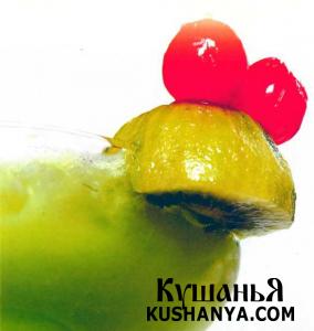 Коктейль «Зеленая лягушка» фото