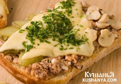Фото Итальянские горячие бутерброды