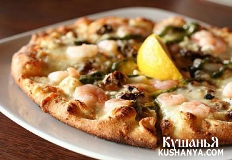 Фото Пицца по-японски