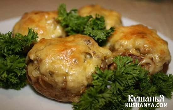 Фото Печеночные оладьи под сыром