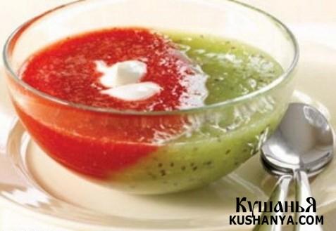 Фото Фруктовый суп
