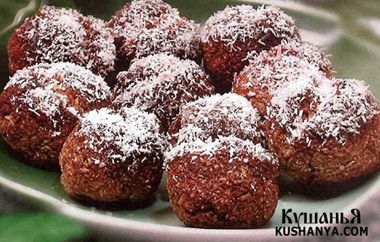 Фото Кокосовое печенье