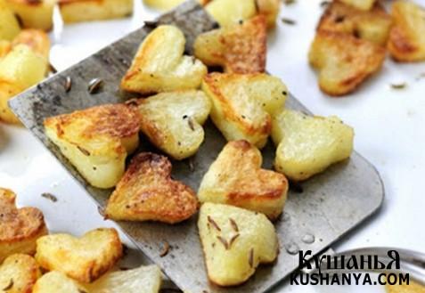 Фото Жареная картошка для влюбленных