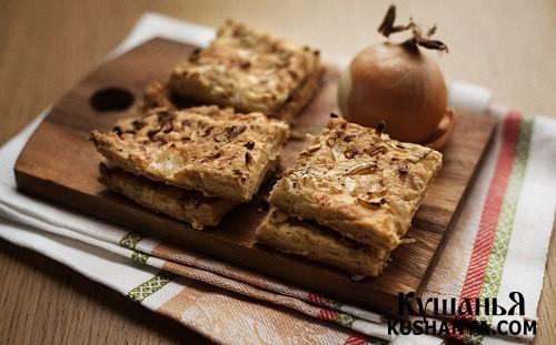 Фото Луковое печенье