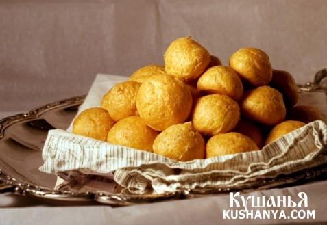 Фото Сырные шарики во фритюре