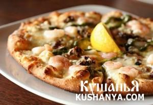 Пицца по-японски фото