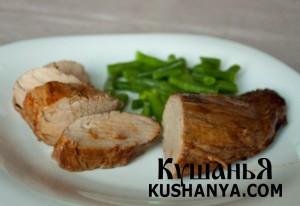 Свинина в соево-имбирном маринаде фото