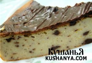 Чизкейк с шоколадом фото