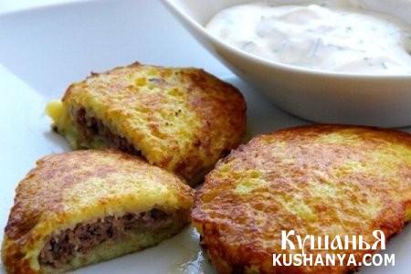 Фото Колдуны, или драники с мясом