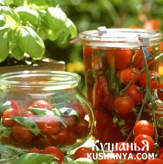 Фото Маринованные помидоры