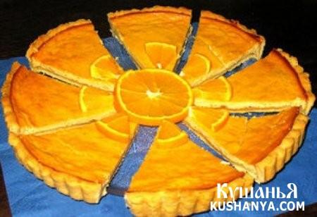 Фото Медово-цитрусовый творожный пирог