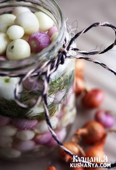Фото Маринованный лук