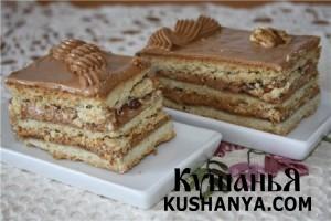 Торт «Ленинградский» фото