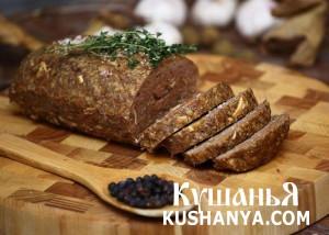 Фото Мясной хлеб
