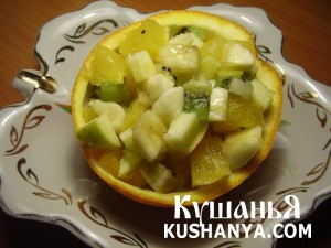 Салат фруктовый без сахара фото