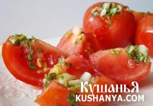 Быстрые помидоры (сухой посол) фото