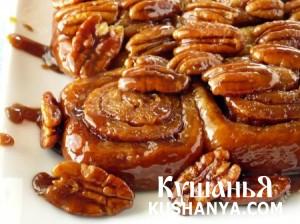 Медово-ореховая выпечка фото