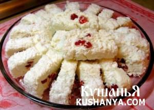 Десерт «Белоснежка» фото
