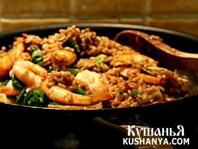 Фото Рис с морепродуктами по-японски