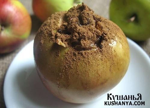 Фото Печеные яблоки