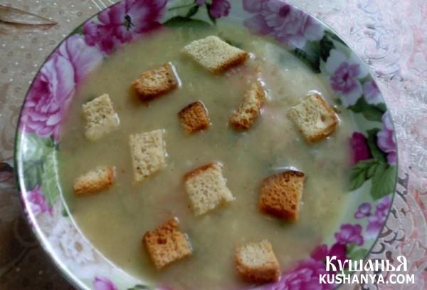 Фото Картофельный суп-пюре по-японски