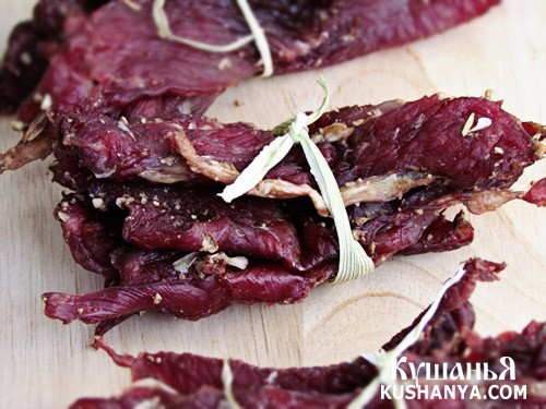 Фото Вяленое мясо (Beef Jerky)
