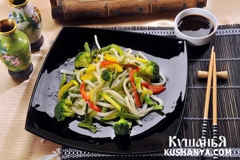 Фото Лапша с овощами Ясаи Яки