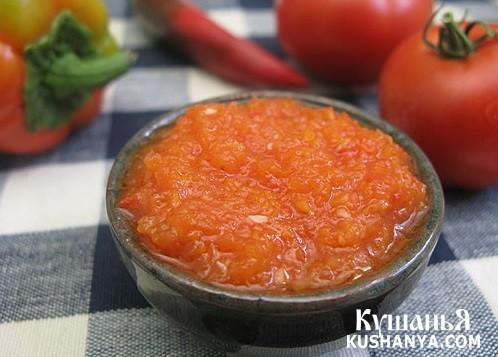 Фото Острый томатный соус