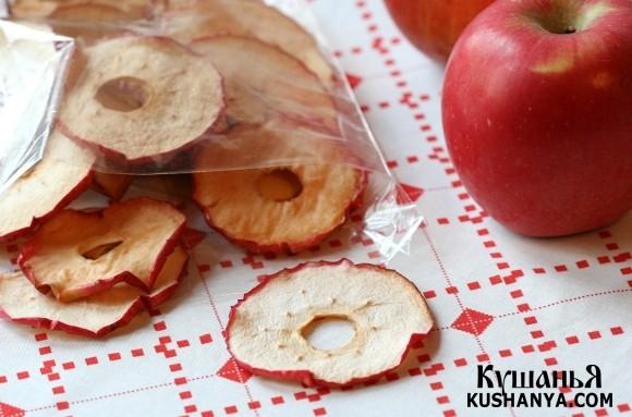 Фото Яблочные «чипсы»
