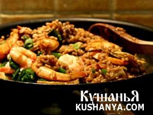 Рис с морепродуктами по-японски фото