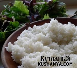 Рис для суши (Сусимэси) фото