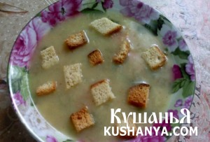 Картофельный суп-пюре по-японски фото