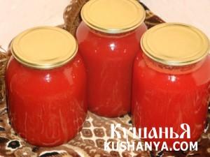 Томатный сок «Кубанский» фото