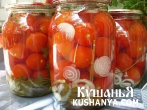 Маринованые помидоры классические фото