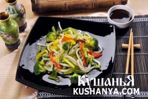 Лапша с овощами Ясаи Яки фото