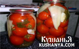 Консервированные помидоры фото
