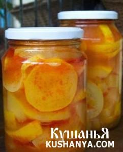 Фото Кабачки в томатной заливке