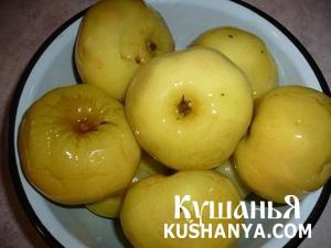 Яблоки моченые фото